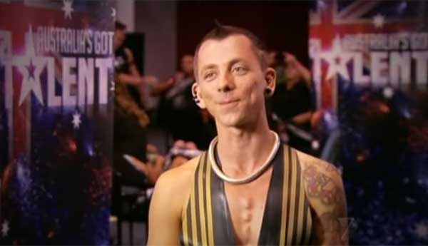 Space Cowboy Breaks World Record - Australia's Got Talent 2012