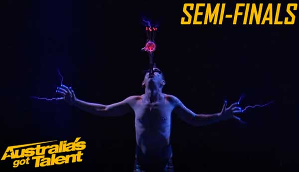 Space Cowboy Gets Electric | Semi Finals | Australia's Got Talent