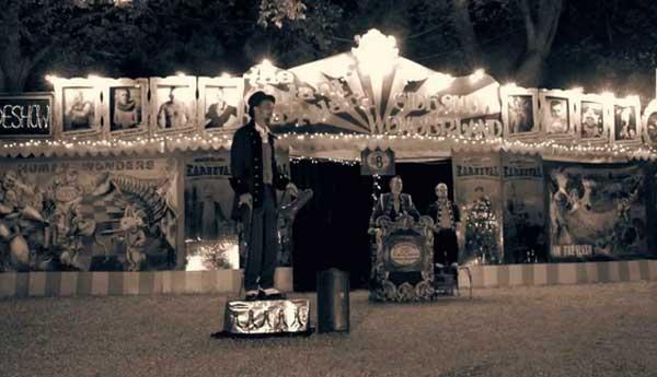 The Space Cowboy presents 'The Mutant Barnyard' -Traveling freak & oddity museum